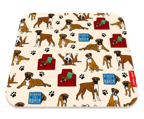 Selina-Jayne Boxer Dog Limited Edition Designer Mouse Mat